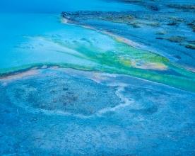 Saphire Pool, Biscuit Basin — Yellowstone © jj raia